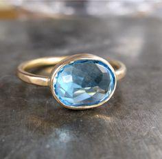 Clean Water Ring. $480.00, via Etsy.