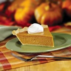 Perfect Pumpkin Pie Allrecipes.com