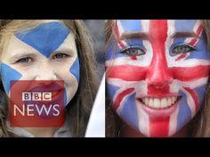 Scottish independence referendum & national identity - BBC News - YouTube