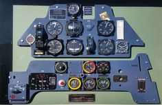 Week 36 alzitorini's BF 109E Instrument panel