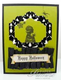 Inspired by Stamping, A Spooky Halloween stamp set, A Spooky Halloween Digital Printables, Halloween card