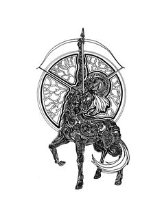 Sagittarius by Lakandiwa.deviantart.com on @DeviantArt