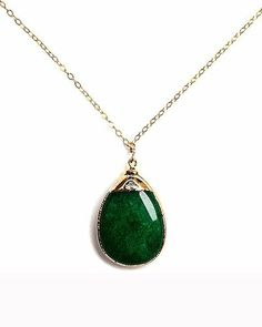 Emerald Green Necklace.