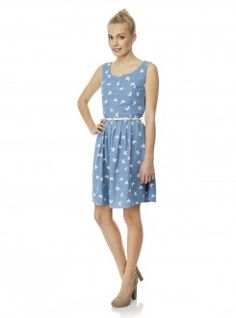 Yumi Chambray Butterfly Print Dress Now Was Day Dresses, Summer Dresses, Wedding Dresses, Batiste, Butterfly Print Dress, Latest Fashion For Women, Womens Fashion, Galeries Lafayette, Buy Dress