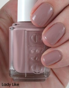 Essie - Lady Like! Just used it and love it so far my favorite... Its great having a nail technician as a mother in law :) THANK YOU