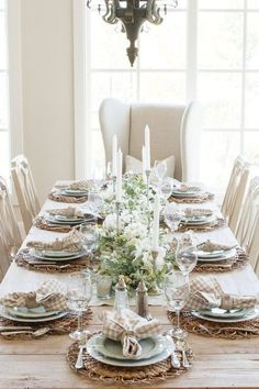 Are you looking for Fall tablescapes ideas? I have 10 Fall themed Tablscapes ideas for you. These simple Fall tablescapes are what you need. I have fall tablescapes that fit everyone's styles, from farmhouse to elegant Thanksgiving tablescapes that are elegant. If you want more Fall inspiration, visit Home with Holly J. Green Dining Room, Dining Room Table, Dining Table Settings, Dining Rooms, Dining Area, Holiday Tables, Thanksgiving Tablescapes, Fall Table, Autumn Theme