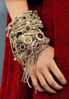 #fashion items#accessories #bracelet #bangles #beads #red #garnet #ruby #silver #jewelry #chains #bohemian #boho #chic #gypsy #tribal