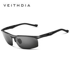 Aluminum Magnesium Sunglasses Polarized Sports Men Coating Mirror Driving Sun Glasses oculos Male Eyewear Accessories 6589
