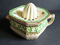 Porcelain Reamer, Juicer, Vintage