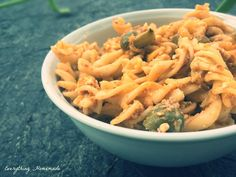 Mediterraner Nudelsalat Gnocchi, Pasta Recipes, Risotto, Macaroni And Cheese, Bbq, Ethnic Recipes, Food, Noodles, Food Food