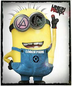 MINION LINKIN PARK STREET SOLDIER!