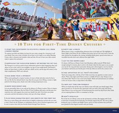 Ready to plan your first Disney Cruise Line vacation? Here are the top 10 tips for first-time Disney cruisers! #DisneyCruisePlanning at www.ourlaughingplace.com  tammy@olptravel.com