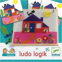 Djeco Ludo Logic educatief spel 4j