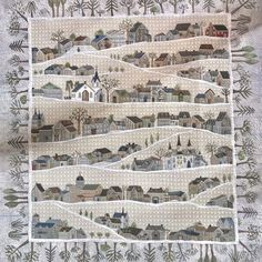Quilting Patchwork Appliqué: A - Z : T = Taupe Japanese Quilt Patterns, House Quilt Patterns, House Quilt Block, Japanese Patchwork, Japanese Quilts, Japanese Bags, Japanese Style, Yoko Saito, Flower Motif