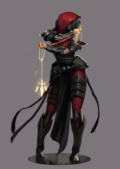 Red Knights - The Assassin | Artist: JoshCorpuz85