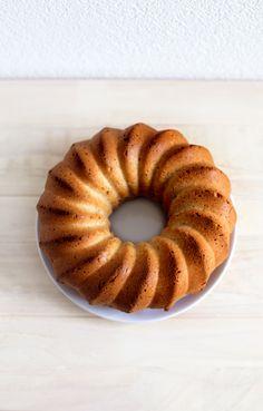 coconut donut cake