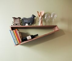 Oblique shelf by Zac & Co