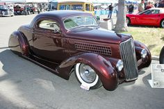 Bugs' 1935 Ford Coupe - The Ruby Deluxe Vintage Cars, Antique Cars, Old Dodge Trucks, Traditional Hot Rod, Ford Lincoln Mercury, Lead Sled, Rat Rods, Kustom, Buick