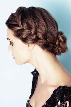 one side braid