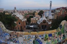 Gingerbread houses #Barcelona #ParcGuell