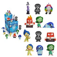 Inside Out Mystery Minis Mini-Figure Random 4-Pack