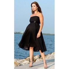 Nicole Maternity Formal Dress Gown S-3XL