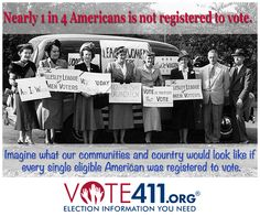 League of Women Voters  Please Vote & send this on to folks who don't.  Thanks.