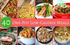 If you've got one pot, a few ingredients and not a lot of time, you CAN enjoy a satisfying yet sensible meal with 500 calories or less per serving.