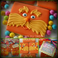 .decorated cookies from rect cutter