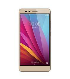 Honor 5X Unlocked Smartphone 16GB Sunset Gold (US Warranty)
