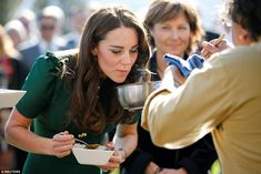 Kate revealed her domestic credentials when she said curry was one of her favourite dishes to whip up in the kitchen