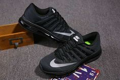 promo code d179e d236a Nike Air Max 2016 Men Mesh Black Grey Logo Air Max Style, Nike Free Shoes