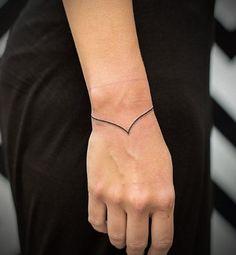 tatuajes elegantes curva