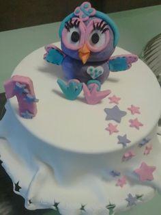 Hootabelle cake — Children's Birthday Cakes