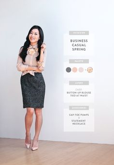 ExtraPetite.com - Wardrobe Staples Series: Styling a Sheath Dress: Business Casual Spring