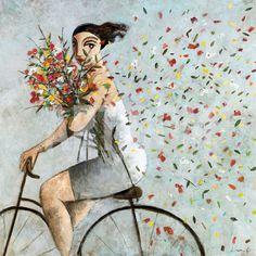Petals Art Print by Didier Lourenco at Art.com