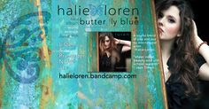 Pre-ordering now available for #ButterflyBlue - AND you get an immediate track download when you pre-order now! Check it out and purchase at halieloren.bandcamp.com