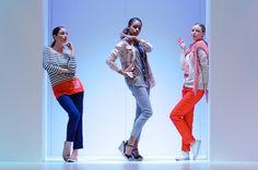 Jackpot casual womenswear collections at MODA fashion show Danish, Fashion Show, Capri Pants, Women Wear, Casual, Collection, Danish Pastries, Capri Trousers, Casual Clothes