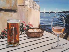 Ibiza Jill art by Bianca Wijn bier