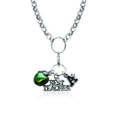 Teacher Charm Necklace in Silver -Save 20% off at WhimsicalGifts.com with Code: PINIT20