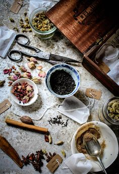 ..Twigg studios: easy homemade teabags christmas gift idea