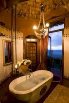 Tuscan bathroom design is said to be a perfect combination of sheer indulgence and timeless beauty. When designing a bathroom, … Tuscan Bathroom Decor, Kitchen Decor, Spanish Style Decor, Tuscan Furniture, Old World Kitchens, Italian Bathroom, Luxury Master Bathrooms, Master Baths, Interior Design Advice