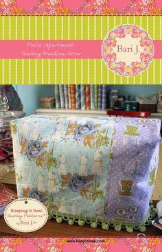 Cute sewing machine cover.