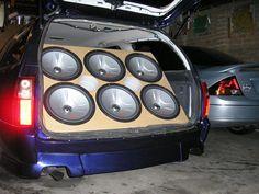 DANG!!! Surround Sound Setup Ideas for your car | Car+sound+system+setup