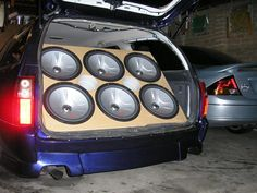 DANG!!! Surround Sound Setup Ideas for your car | Car+sound+system+setup