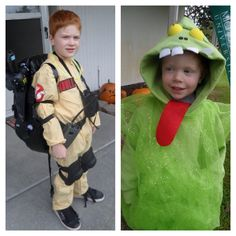 Ghostbuster and Slimer. #ghostbuster #slimer