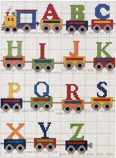 Emy's Gallery: Cross Stitch Alphabets