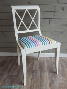 Relooking d'une chaise ancienne - Old chair makeover