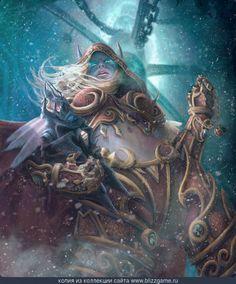 Sylvanas (Alternate Ending) by Courtney Chilson » Галерея » World of Warcraft