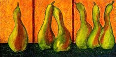 Pear Whimsey Painting by Bellesouth Studio - Pear Whimsey Fine Art Prints and Posters for Sale fineartamerica.com
